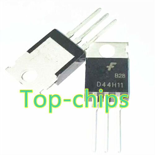 10 PCS D45H11G TO-220 D45H11 Complementary Silicon Power Transistors