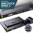 Lenovo Thinkpad Mini Docking Station Series 3 USB 3.0 Type 4337 T430 T510 L330