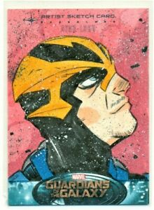 2014-GUARDIANS-OF-THE-GALAXY-JANELLE-DAMPIER-STAR-LORD-ARTIST-SKETCH-CARD-1-1