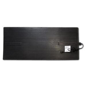 Heated Rubber Floor Mat Garage Space Heater Rug Radiant