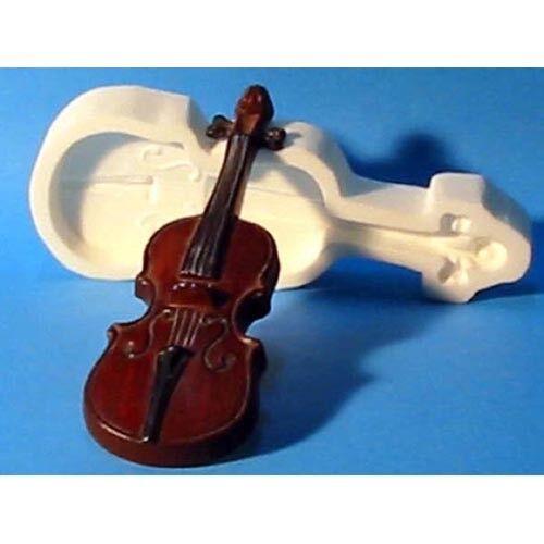 Caoutchouc de silicone Moule violon 9.5  X 3  X 1  Deep
