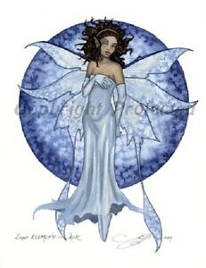 Details about Amy Brown Fairy Print Goth LIGHT Element Air Faery Elemental  Fantasy Art