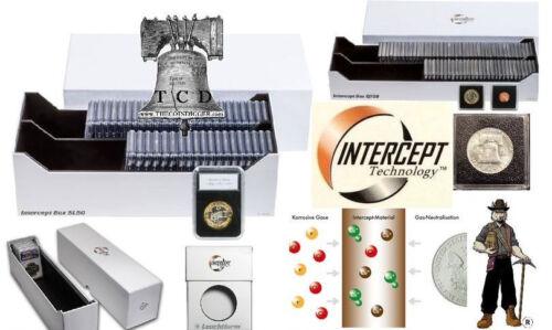 Intercept Track Box Coin Holder Slab Storage Case PCGS NGC ANACS for 20 Slabs