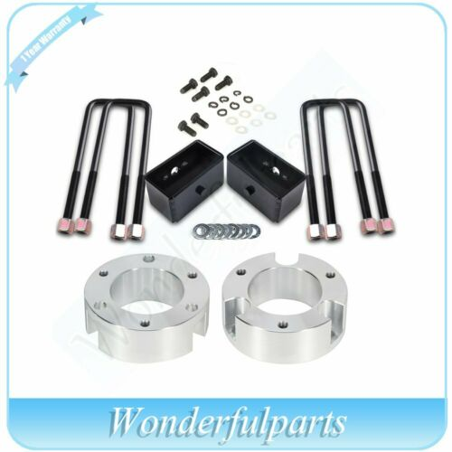 """New 3/"""" Front 3/"""" Rear For Toyota Tacoma 05-19 2.7L 2//4WD Sliver Leveling Lift Kit"""