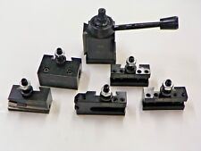 AXA Size 250-111 Wedge Type Tool Post Set for Lathe 6-12+2 Extra XL Tool Holder