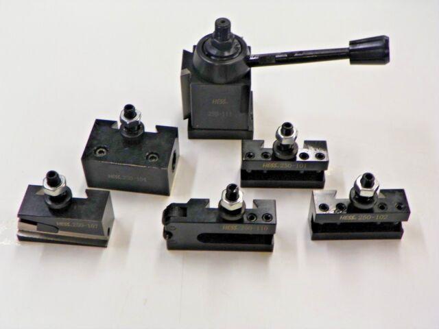 6-12/'/' #2 AXA Boring Turning Quick Change Tool Post Facing Holder 250-102