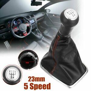 5-Speed-23mm-Gear-Knob-Shift-Gaiter-Boot-Cover-For-Volkswagen-VW-BORA-GOlf-MK4