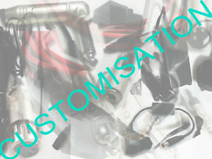 Custom made project unit audio cable power lead 12v d-tap lot bulk customisation