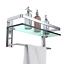 GeekDigg-Bathroom-Shelf-Tempered-Glass-Floating-Shelves-Wall-Mounted-Storage thumbnail 8