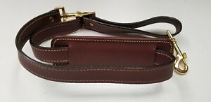 VTG-Hartmann-Wings-Luggage-All-Leather-Shoulder-Strap-Cognac-New