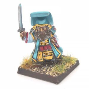 Samurai-Dwarf-Scroll-Hat-Warhammer-Fantasy-Armies-28mm-Unpainted-Wargames