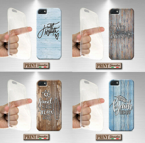 Cover For ,LG,OPPO,Wood,Silicone,Soft,Vintage,Sea,Aphorisms,Quote,Beach