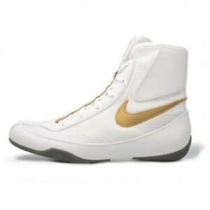 Nike-Machomai-2-Boxing-Boots-White-Gold-Boxing-Shoe-Adult-Mid-Top-Training-Shoes