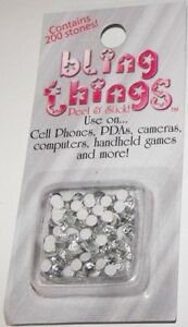 White-Stones-Cell-Phone-Jewelry-BLING-THING-STICKERS-MAKE-YOUR-OWN-DECAL-BBS500