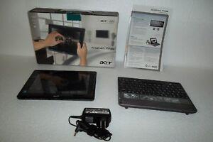 """Acer Iconia W500 Tablet AMD C-50 1.5GHz 32GB 2GB Wi-Fi 10.1"""" Bluetooth Webcam"""