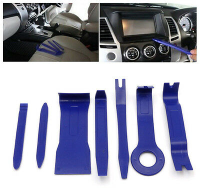 7Pcs Car Dash Trim Door Panel Audio Stereo GPS Install & Removal Open Tool