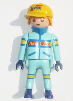 Playmobil Go-Kart FIGUR Mann Rennfahrer Fahrer 3012 3013 Racing Ersatzteil