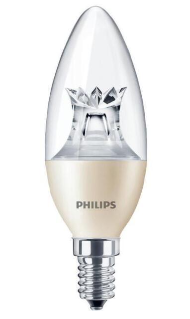 Philips Lighting - 45350600 - E14 Dimmable Led Candle Bulb, 6w 2700k