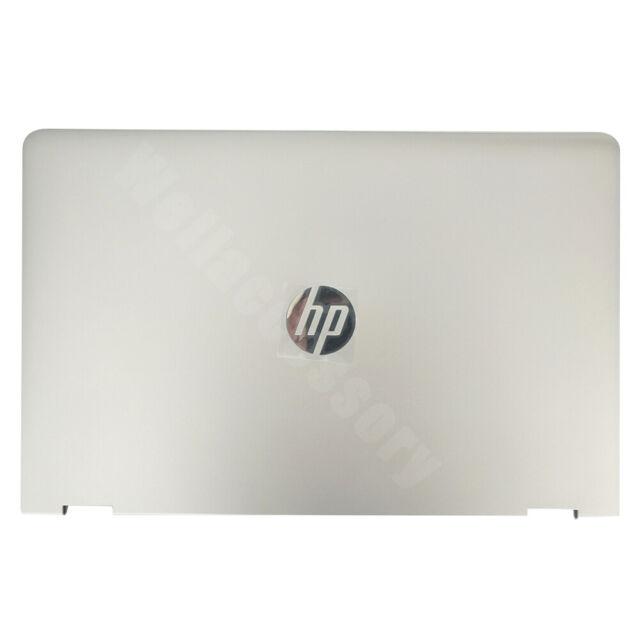 HP Pavilion 15-BR 15-BR001LA Laptop Back Cover Top Case Silver Touch 924499-001