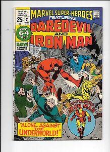 Marvel-Super-Heroes-31-November-1971-Daredevil-and-Iron-Man