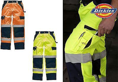 6XL BEE WARNSCHUTZ Regenhose gelb orange Arbeitshose Warnschutzhose Hose S
