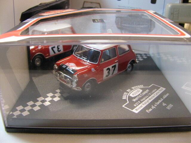 1 43 Vitesse Mini Cooper Winner Rallye Rallye Rallye Monto Carlo (1964) diecast a954ee