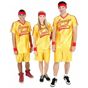Average Joes Costume Funny Adult Dodgeball Sports Halloween Fancy ...