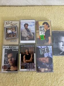 Lot of Randy Travis cassettes 7