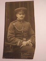 sitzender Soldat in Uniform - Regiment IR 71 / CDV