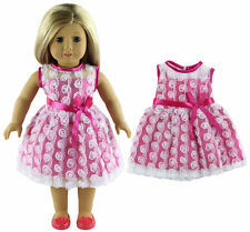 Doll Clothes for 18'' American kids Girl Doll Princess Dress skirts New
