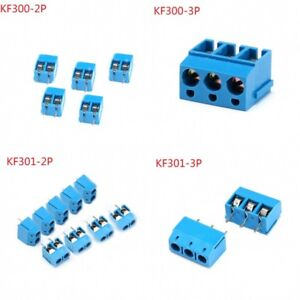 Details about KF300/KF301-2P 3P Plug-in Screw Terminal Block Connector  Pitch 5mm 16A