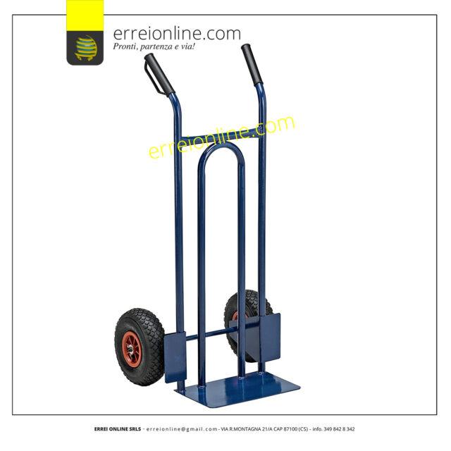 Easy tools carrello portapacchi 200kg trasporto pacchi ruote pneumatiche