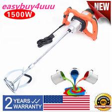 Electric 1500w 1 Rod Putty Powder Stirring Machine 6 Speed Paint Plaster Mixer
