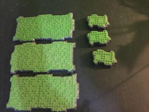 Mega Bloks Lot of 6 Terrain