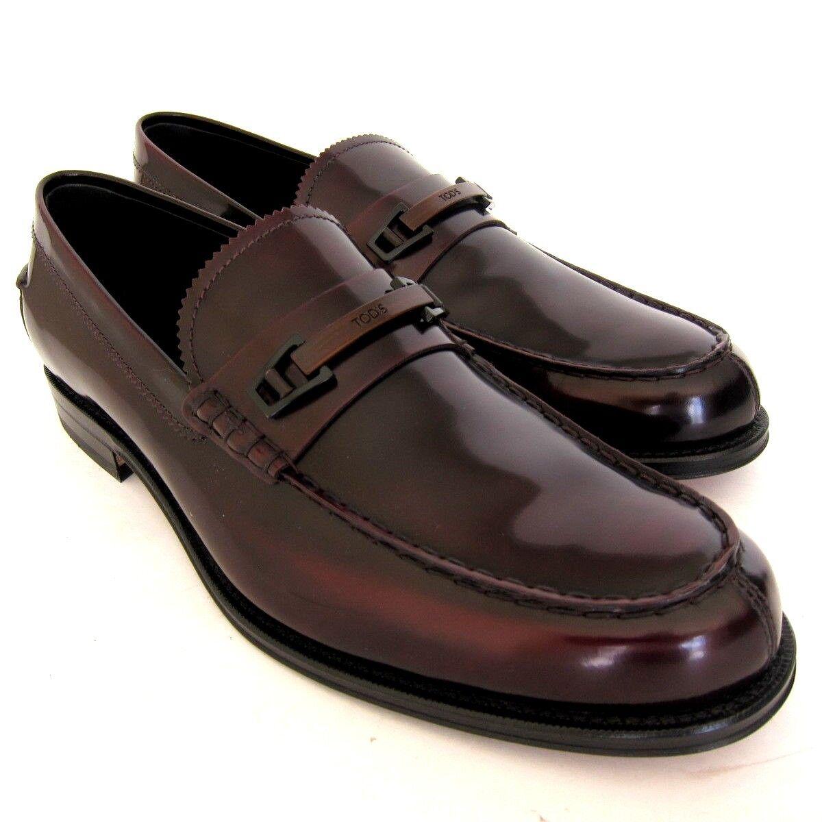 S-2198119 New Horsebit Tods Morset Bordeaux Horsebit New Loafer Shoe Size US 11.5 Marked 10.5 502e17