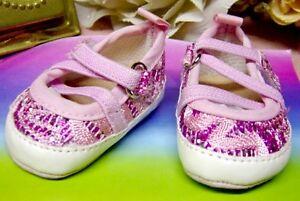 Puppen Schuhe Puppen Ballerinas für Puppen mit 7,5 - 8 cm Füßen von Heless 845