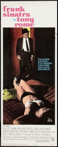 Tony Rome Movie Poster Insert #01 Replica