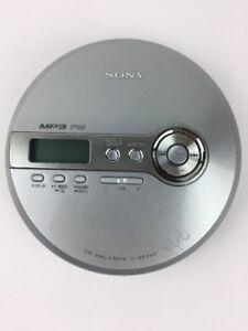 SONY-D-NF340-CD-Walkman-Mega-Bass-FM-Radio-MP3-Silver-Portable-Player-Repair