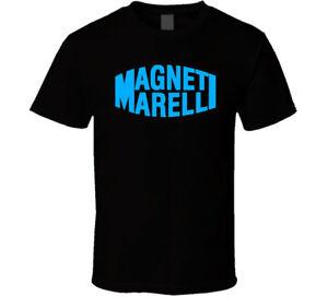 Magneti-Marelli-MotoGP-Logo-shirt-black-white-tshirt-men-039-s-free-shipping