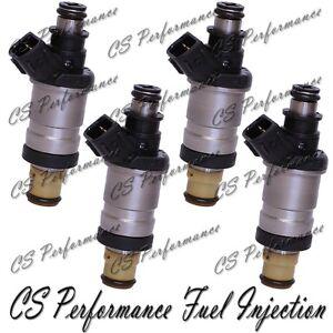 Carburant Injecteurs (4) Set Pour 1997-2002 Honda Acura 1.6L 2.3L I4 D16Y8 Engin