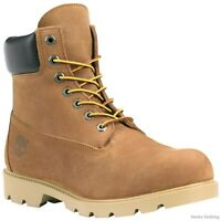 Timberland Mens Icon Basic 6 Inch Work Boots Style 19076 Rust All Sizes