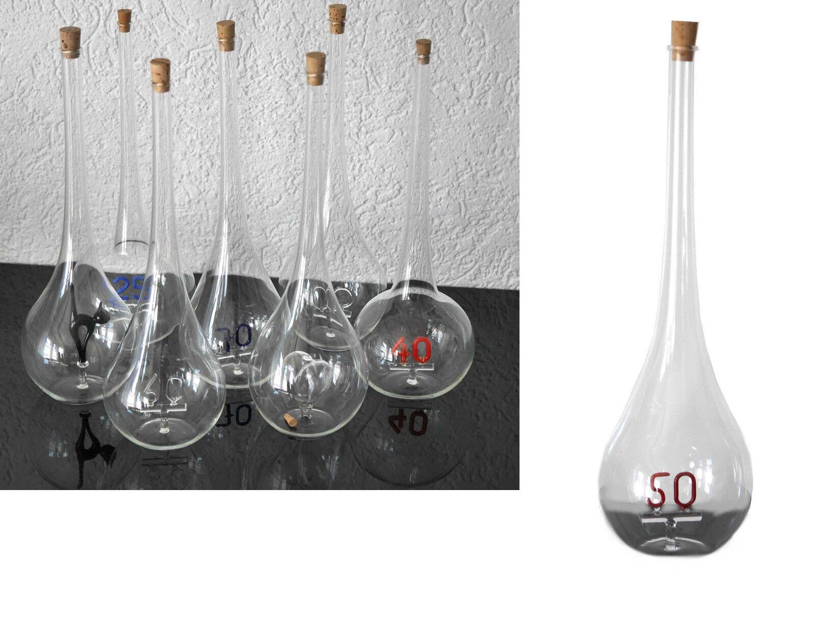 Edelglas Flaschen mundgeblasen Lauschaer Zahlen und Motive Hochzeit Jubiläum | Moderne und stilvolle Mode  | Am praktischsten