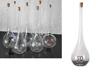 Edelglas Flaschen mundgeblasen Lauschaer Zahlen und Motive Hochzeit Jubiläum