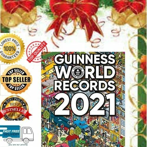 Guinness World Records 2021 Hardcover UK Fast and Free Delivery