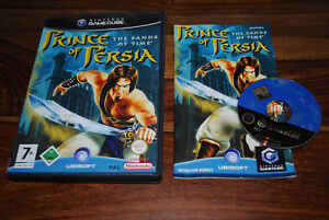 PRINCE-OF-PERSIA-THE-SANDS-OF-TIME-pour-Nintendo-GameCube-GC-PAL-CD-remis-a-neuf