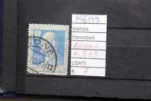FRANCOBOLLI-ITALIA-REGNO-USATI-N-213-A56199