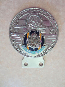 Car Badges Vintage St Christopher Car Badge Badges & Mascots