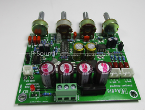 HIFI-Subwoofer-Preamplifier-Preamp-Low-Pass-Board-DIY-Audio