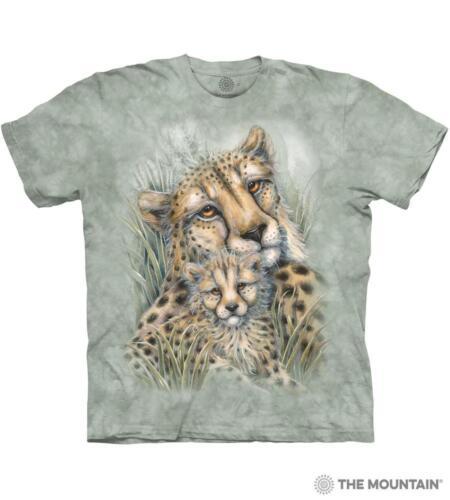 100/% Cotton Tee Shirt Cheetahs T-Shirt By The Mountain