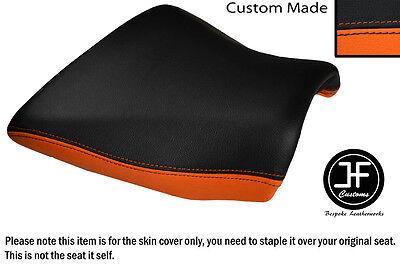 DESIGN 2 ORANGE BLACK VINYL CUSTOM FOR KAWASAKI Z750 Z1000 04-06 REAR SEAT COVER